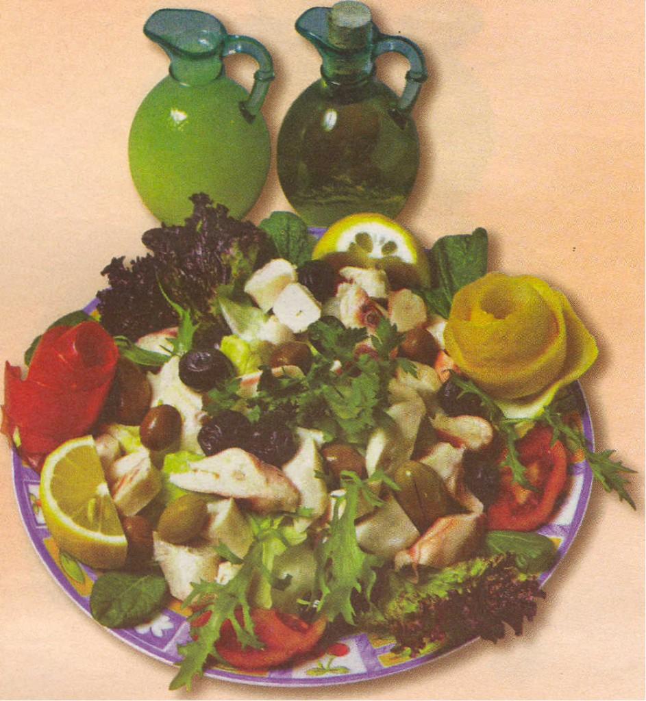 ahtapot salata