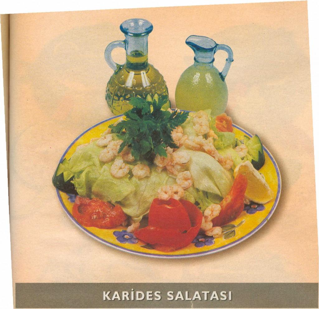 karides salata